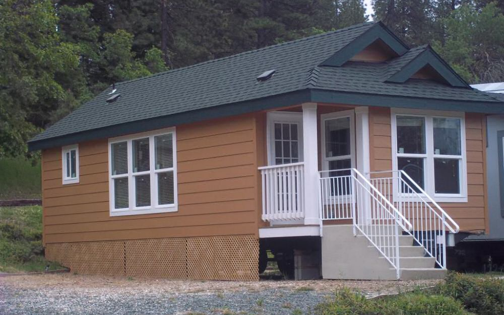 Modular homes statewide manufactured homes nevada county for Prefab granny unit california